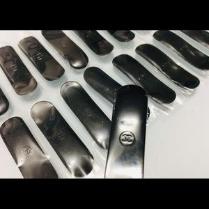 Chanel CC black Mini Spatulas 20pcs